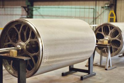 Cylinder mould cover
